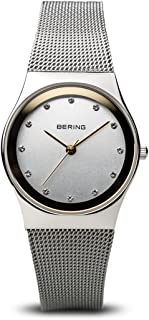 BERING Time 11927-000 Womens Classic Collection Watch with Mesh Band and Scratch Resistant Sapphire Crystal. Designed in Denmark.