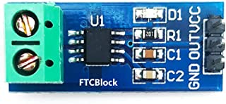FTCBlock 3pcs ACS712 Current Sensor 5A Range Analogue AC/DC for Arduino Ras PI