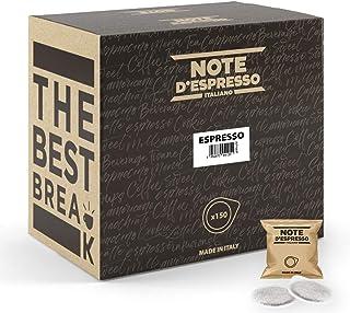 Note d'Espresso - Espresso - Café - Dosettes en Papier 44 mm - 150 caps
