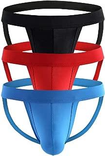 Men's Athlelic Supporter Performance Jockstrap Underwear Sports Briefs