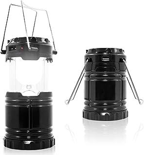 MAXIN キャンプライト 折りたたみ 超明るい 充電式バッテリー 防水 ポータブル LEDソーラーランプ 懐中電灯 キャンプ用