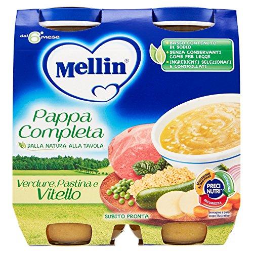 Mellin Pappa Completa Vitello 2 x 250 g