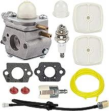 Hayskill C1U-K52 C1U-K47 Carburetor w Repower Kit for Echo PE-2000 PE-2400 GT-2000 GT-2400 SRM-2100 SHR-210 SHC-1700 SHC-2100 PAS-2000 PAS-2100 PP1200 PP1400 Power Pruner Trimmer
