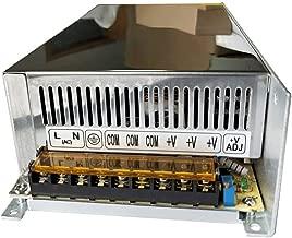 Henxlco AC 110V - 220V TO DC 12V Regulated Transformer Switch Power Supply Driver Adapter For CCTV camera Security System LED Strip Light (40A)