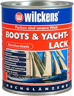 Wilckens Boots & Yachtlack 750 ml Bootslack Lack Kunstharz-Klarlack Yachtlack Kustharzlack