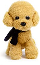 krisphily Stuffed Animals Plush Dog Toys Puppy,12 inches (Brown)