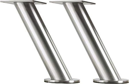 Ikea IKE-400.511.96 Capita - Juego de 2 soportes de acero inoxidable para bar, oblicuo, barra, apoyo