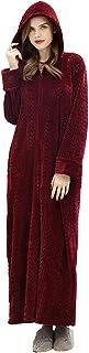 Artfasion Womens Zipper Housecoat Sleepwear