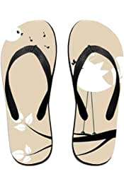 CAPXIEeY Womens Open Toe Slide Sandal Popular Album Artwork Flip Flops Shower Slippers Poolside Beach Shoes