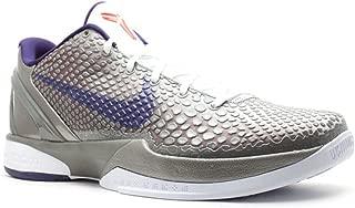 Nike Zoom Kobe VI China Edition Mens Basketball Shoes Metallic Pewter/Ink-White-Crimson 429659-006-10.5