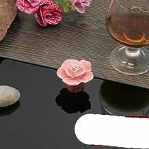 mode kast kast handgrepen natuurlijke keramische handvat bloem roos lade knoppen trekt landelijke meubels handgrepen hardw...