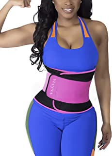 Waist Trainer Slimming Body Shaper Belt - Sport Girdle Waist Trimmer Compression Belly Weight Loss