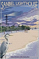 サニベル灯台フロリダ34170(米国製13x19大人用プレミアム500ピースジグソーパズル!)