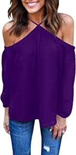 Amazoncom Purples Womens Blouses Button Down Shirts