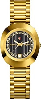 Rado Women's Black Dial Metal Band Watch - R12416163