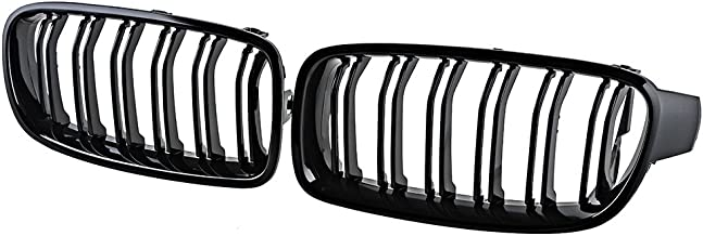 Glossy Black Front Kidney Grille Grill For 2012-2018 F30 320i 328i 335i 4-Door