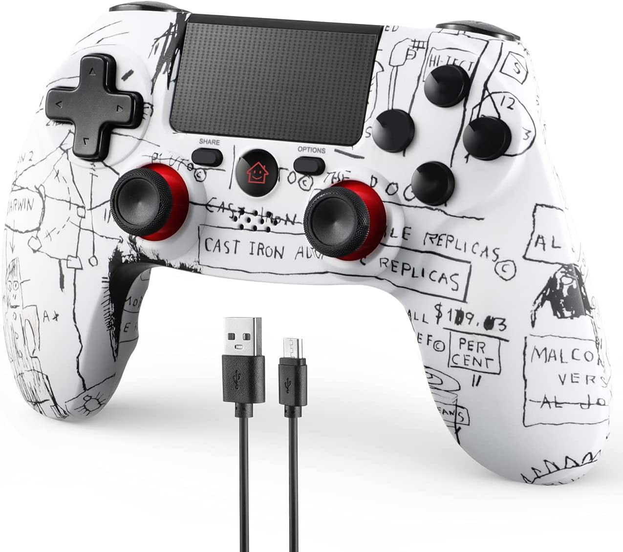 New Free Today's only Shipping FaRuiX Game Controller for Wireless Remote Ps-4