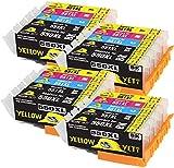 Yellow Yeti Reemplazo para Canon PGI-550XL CLI-551XL 20 Cartuchos de Tinta compatibles con Canon Pixma iP7250 MX925 MG6350 MG5450 MG5550 MG5650 MG6450 MG6650 MG7150 MG7750 iX6850 iP8750 MX725