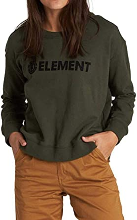 Element - Felpa da donna con logo Crew