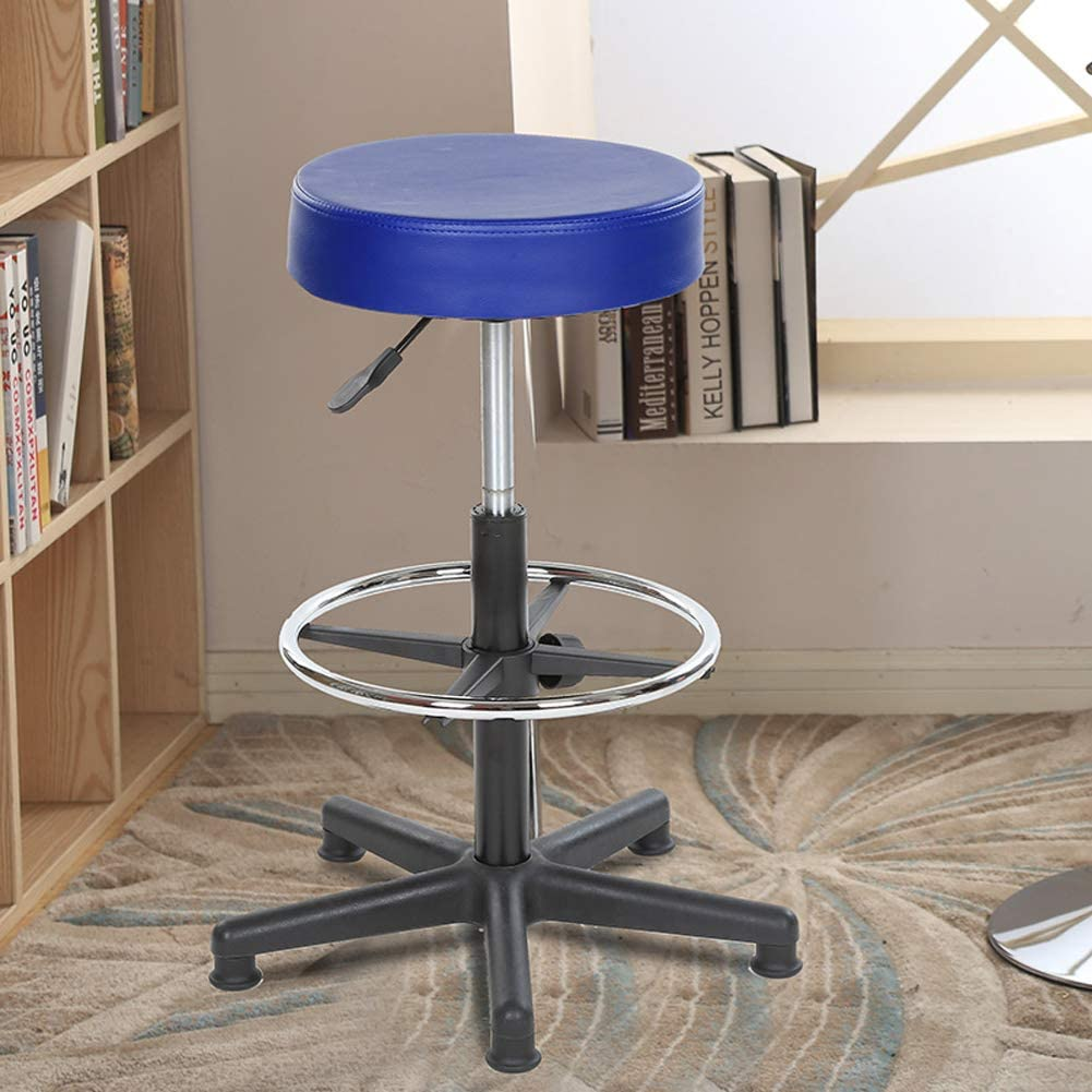 Chaise de salle à manger ronde relevable, bar laboratoire atelier d'école opération tabouret en caoutchouc-5 1