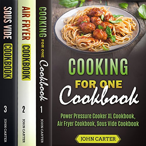 Cooking For One Cookbook audiobook cover art