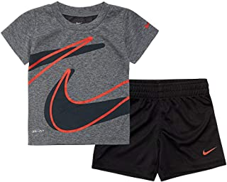 Boy`s Dri-Fit T-Shirt & Shorts 2 Piece Set...