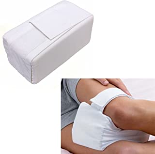 Yosoo Knee Support Pillow, Knee Ease Pillow Cushion Comforts Bed Sleeping Seperate Back Leg Pain Support