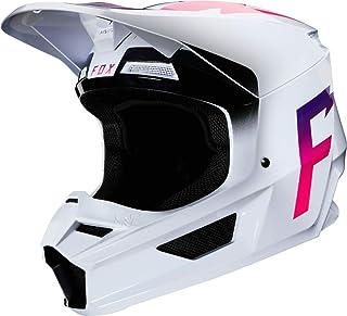 Fox Motocross-Helm V1 Weiß Gr. M