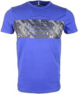 883 Police Ostend Crew Neck T-Shirt Sky Blue