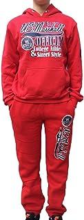5c4e00006c376 US Marshall Survêtement - Jogging Rouge Enfant Fille et garçon
