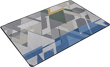 JIAJUAN Rectangle Doormat Non-Slip Front Door Entryway Mat Multiple Uses - Living Room Bedroom Kitchen Bathroom Floor Rug,...