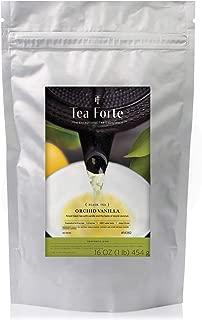 Tea Forte Organic Black Tea Orchid Vanilla, Bulk 1 Pound Refill