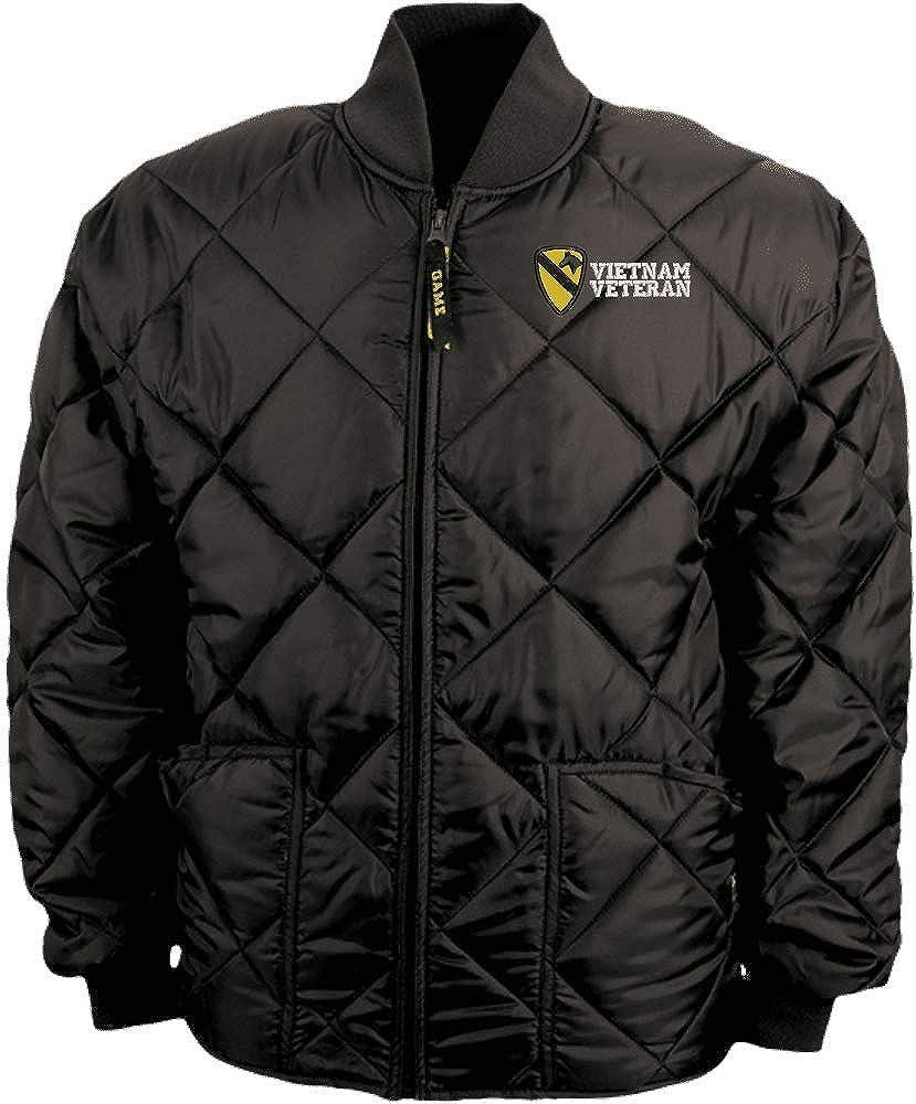 1st Cavalry Division Vietnam Veteran Game Sportswear Bravest Jacket