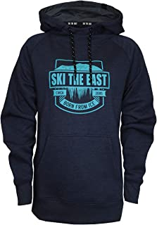 Women's Born from Ice Pullover Hoodie - Navy