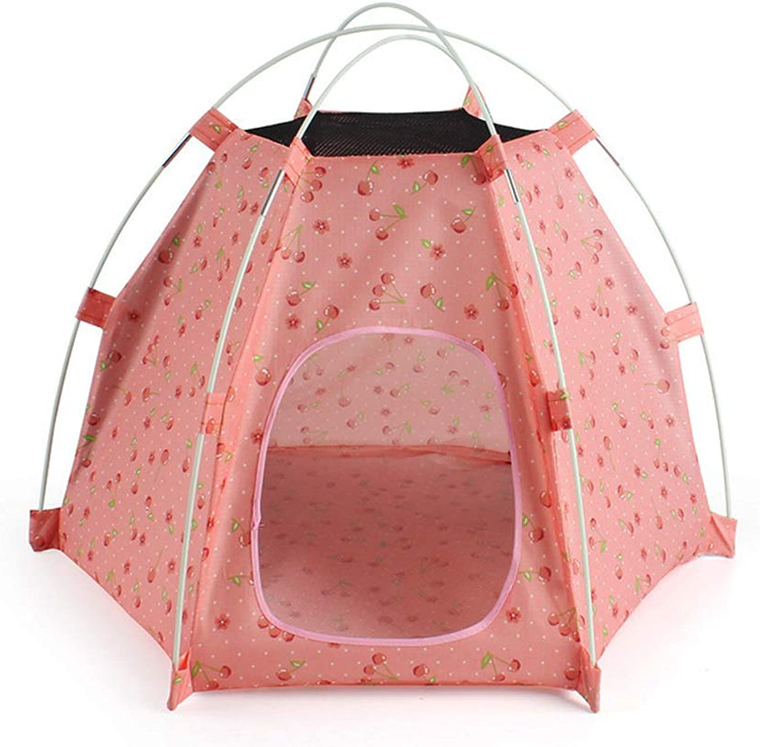 (27.5  21.6  20.8 Inches) Outdoor Sunscreen Pet Tent Suitable for Small and Medium Pet Dogs and Pet Cats Foldable Portable Outdoor Travel Camping Pet House,2