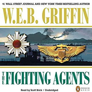 The Fighting Agents audiobook cover art