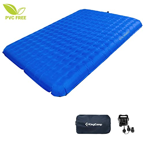 Light Speed Outdoor Camping Pad 2-Person Mattress Air Bed Battery Operated Pump