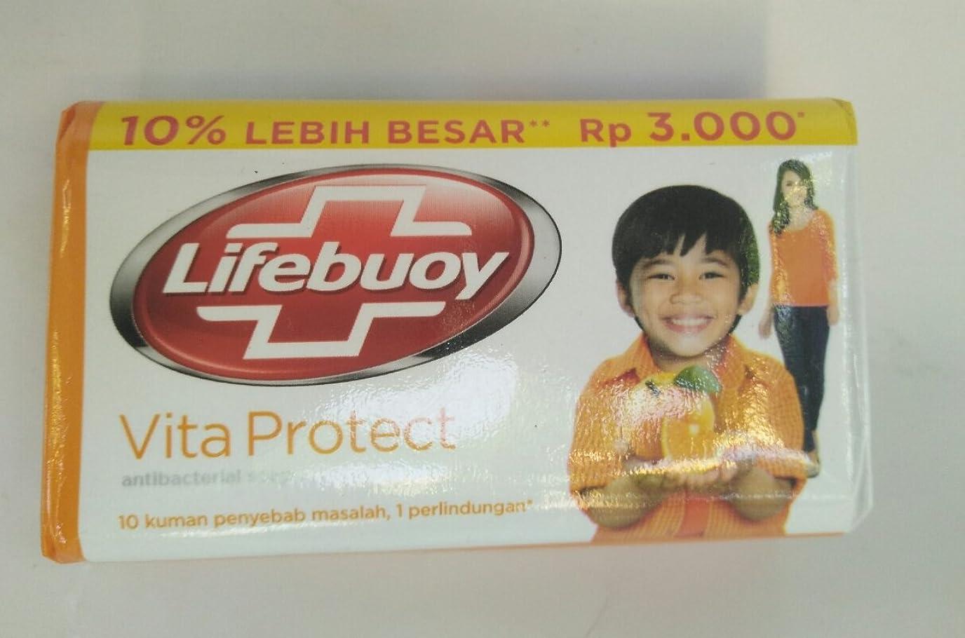 繊維深いフクロウLifebouy ヴィータは抗菌石鹸、85グラムを守ります