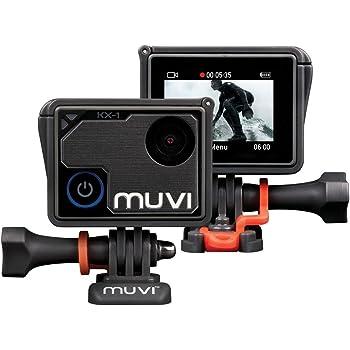 Veho Muvi KX-1 Action Camera   KX-Series   Handsfree Camcorder   WiFi   4k Action Cam   12MP Photo   Waterproof Housing (VCC-008-KX1)