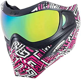 VForce Grill Special Edition Paintball Goggle Mask - Street Magenta w/Metamorph Lens