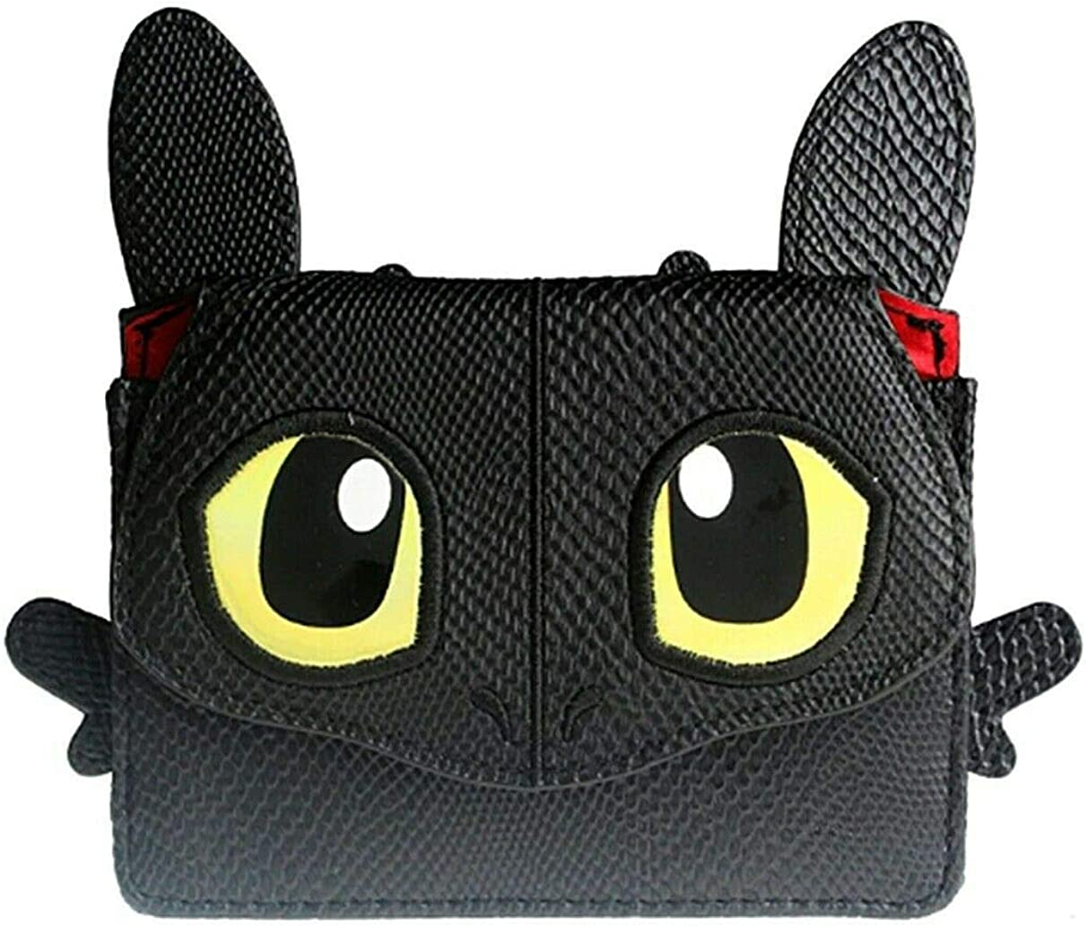 How To Train Your Dragon Toothless Night Fury Wallet