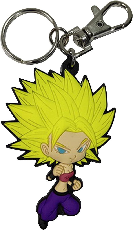 Dragon Ball Super- SD Ss Caulifla PVC Keychain