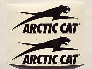 2 Arctic Cat Big Cat Die Cut Decals