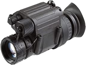 """AGM 11P14123453011 Model PVS-14 3NL1 Mil Spec Gen 3""""Level 1"""" Night Vision Monocular with Manual Gain, 1x Magnification, 26mm F/1.2 Lens System, 40 FOV, Focus Range 0.25m to Infinity"""