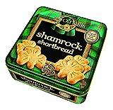 Irische Shortbread Kleeblatt Kekse in Geschenkdose