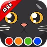 Libro de colorear - Gatos MAX