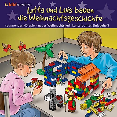 Lotta und Luis bauen die Weihnachtsgeschichte cover art