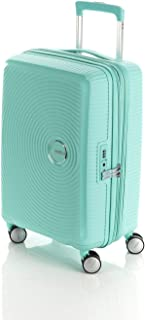 American Tourister Curio 55cm Hard Suitcase Luggage Trolley Mint Small