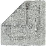 Cawö Home Badteppich Luxus Badteppich 1000 Silber - 775 60x60 cm