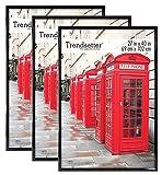 MCS Trendsetter Frame, 3-Pack, Black, 3 Count...